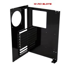A motherboard tray for making your own custom computer case available from mountain mods for about $75 http://www.mountainmods.com/modular-motherboard-tray-10-pci-xlatx-p-533.html
