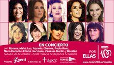 Malú y Luz también se unen al concierto ¡no te lo pierdas! Venta de entradas en www.elcorteingles.es