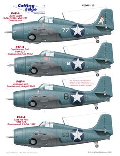 World's Best Model Airplane Decals | Cutting Edge Decals | PYN-up Decals | Yellowhammer Decals  » 1/48 Treasures – Allied