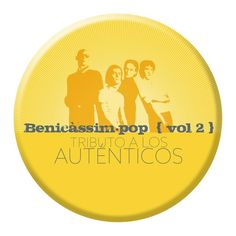#MUSICA #POP #BENICASSIM #CROWDFUNDING - Diseño de lo que será la chapa del Benicàssim.pop Vol. 2 Tributo a Los Auténticos, un recopilatorio con versiones de algunos de sus mejores temas, interpretados por artistas Benicàssim.pop. Una nueva forma de disfrutar de las canciones de un grupo clave para entender la música pop española de los años 80.  Crowdfunding Verkami: http://www.verkami.com/projects/10159-benicassim-pop-vol-2-tributo-a-los-autenticos/
