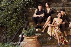 Dolce & Company – Bianca Balti and Monica Bellucci play the matriarchs of a traditional Italian family for the spring 2012 campaign from Dolce & Gabbana. Captured by Giampaolo Sgura in Southern Italy, the images depict Sunday mornings with the label's colorful dresses and lingerie inspired tops. (Racked)