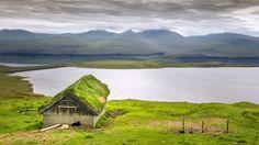 Sheep cabin with view, Faroe Island