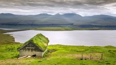 Sheep cabin with view, Faroe Island
