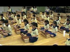 Bow Wow Wow on Xylophones by large group....perfectly attentive class...does this exist?