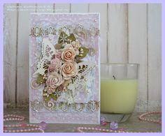 """C.h.e.a.p.-art: Вдохновения от ДК. Юля Кобяшова: открытка """"Крылья бабочки"""""""