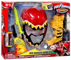 Become a Power Rangers Dino Charge hero with this awesome training set. Prepare for battle action.