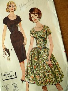 A Stitching Odyssey: Vintage Sewing Pattern Pledge - will you join me?