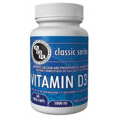 AOR Vitamin D3 Supplements - Brain & Cognitive Function - Health Conditions | Body Energy Club Supplements