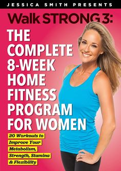 Jessica Smith presents Walk Strong 3: Brand new 8 week fitness program REVIEW part 1 #WalkStrong | EmpowerMoms