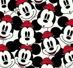 Minnie Mouse and Mickey Mouse iPhone wallpaper