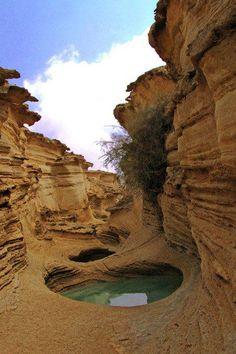 Dulab Village - salt dome (part of Global Geopark) - Qeshm Island, Persian Gulf, Iran