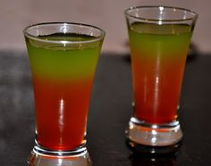 Werewolf Bite Halloween Cocktail - could be renamed for Christmas,red & green : )