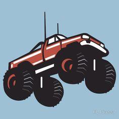 Monster Truck Flying Car Crusher