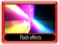 Flash effects templates