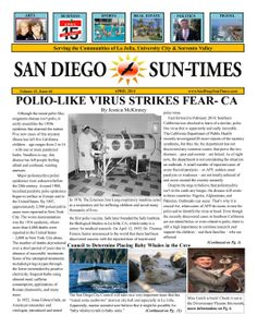 Congrats to SAN DIEGO SUN-TIMES!  A monthly local San Diego, California newspaper.  #DailyMuse: Do you like to read in the morning or evening?