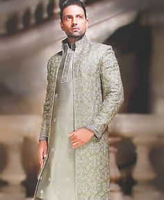 Sherwani and Kulla, Sherwani Turban, Sherwani For Weddings, Red Sherwani, Black Sherwani, Off white