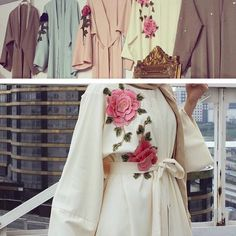 Abaya in different colors