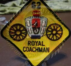 Royal Coachmen Association custom patch by Phoenix Challenge Coins