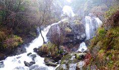 Preciosa cascada con área recreativa, molinos y ruta de senderismo. Hay un parque infantil cerca.