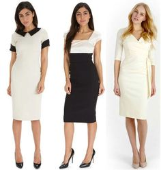Stay timelessly chic in one of these cream designs #fashion #style #cream #classic #chic #elegant #timeless #sophisticated #monochrome #theprettydress #theprettydresscompany