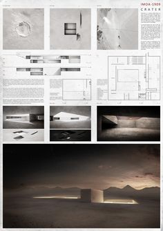 Results of the Competition Atacama Museum of Astronomy Museum Architecture, Architecture Panel, Architecture Graphics, Architecture Drawings, Architecture Design, Architecture Diagrams, Presentation Board Design, Architecture Presentation Board, Interior Presentation