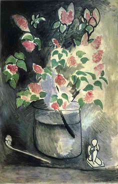 Henri Matisse, Branch of Lilacs, 1914  97 x 146 cm on ArtStack #henri-matisse #art