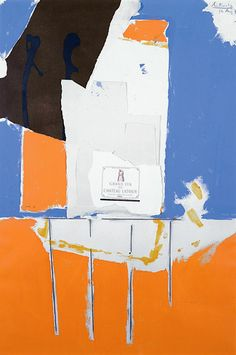 Robert Motherwell Born 1915 in Aberdeen, WA Died 1991 in Provincetown, MA Summer Light Series- Pauillac, #1, 1973. Kemper Museum | by renzodionigi