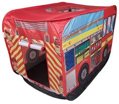 Fire Truck Kids Indoor and Outdoor Play Tent - Easy Assembly ** Want to know more, click on the image.