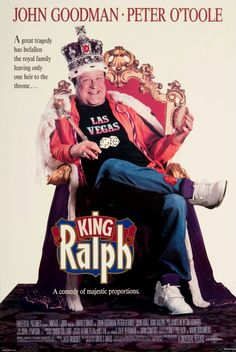 John Goodman, Peter O' Toole - King Ralph - 1991