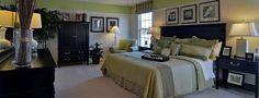 The master bedroom; Venice model