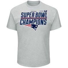 Majestic New England Patriots Men's Super Bowl LI Champions Tee at The Paper Store