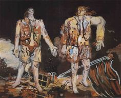 Georg Baselitz, The Great Friends