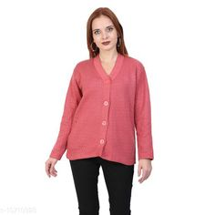 Sweaters BlushhCollection Women Winter Full Sleeve Cardigan (Pack Of 1) Fabric: Wool Sleeve Length: Long Sleeves Multipack: 1 Sizes:  XL (Bust Size: 36 in Length Size: 25 in)  L (Bust Size: 36 in Length Size: 25 in)  M (Bust Size: 36 in Length Size: 25 in) Country of Origin: India Sizes Available: M, L, XL *Proof of Safe Delivery! Click to know on Safety Standards of Delivery Partners- https://ltl.sh/y_nZrAV3  Catalog Rating: ★4 (2403)  Catalog Name: Classy Latest Women Sweaters CatalogID_1967872 C79-SC1026 Code: 892-10710928-