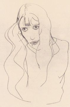 Egon Schiele, Frauenbildnis (Wally), 1913.