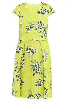 Shop for Citrus Floral Mock Layer Shift Dress from Blue Illusion at Westfield Miranda