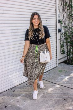 Chubby Fashion, Curvy Girl Fashion, Plus Size Fashion, Mode Outfits, Skirt Outfits, Casual Outfits, Fashion Outfits, Casual Weekend Outfit, Brunch Outfit