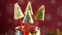 Fudgy, buttery caramel is made all the more scrumptious when shaped into gorgeous Christmas trees!