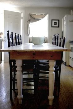 So In Love With The Long Narrow Table Concept... Thinking About Making My