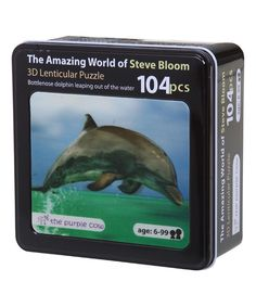 Look at this Tin Bottlenose Dolphin Puzzle on #zulily today!