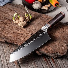 Chef Knife Handmade Forged Kiritsuke Kitchen Knife Stainless Steel Knife for Meat Fruit Fish Vegetables Butcher Knife Kitchen Knives, Meat Fruit, Butcher Knife, Chef Knives, Forged Knife, Handmade, Stainless Steel, China, Knives