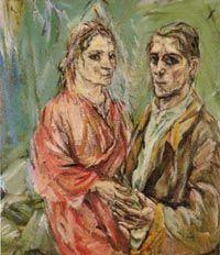 Doppelbildnis Oskar Kokoschka und Alma Mahler