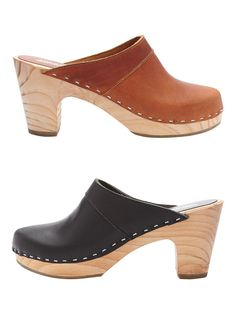 Classic Clog by American Apparel. #clog #shoes #classic
