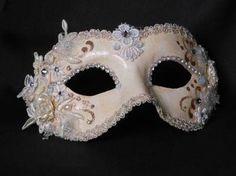 Ossessione Macrame Venetian Masquerade Ball Mask