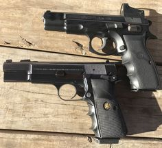 CZ 75 b & Browning Hi-Power