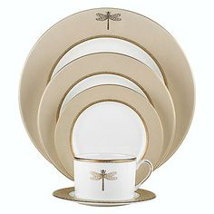 kate spade new york by Lenox June Lane Gold 5 Piece Place Setting