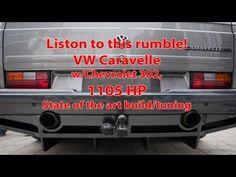 Tuner Lindvall und Teilehändler Koolart haben einen 1990er VW T3 Caravelle mit einem Chevy-V8 gekreuzt. Herausgekommen ist ein 1000-PS-Monster.