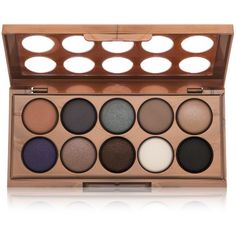 NYX NYX Dream Catcher Shadow Palette - Stormy Skies ($15) ❤ liked on Polyvore featuring beauty products, makeup, eye makeup, eyeshadow, beauty, cosmetics, eyes, fillers, nyx eye shadow and nyx