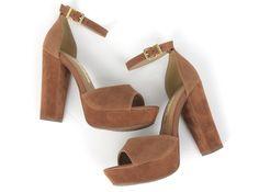 Sandália - Heels- Salto - Moda - Fashion - Ref. 16-10604