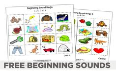 Beginning Sounds – 5 Guided Reading Skill Group Materials {Printable}
