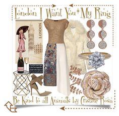 """London I Want You | My Ring"" by cristine-rosa on Polyvore featuring STELLA McCARTNEY, Pamela Love, Donna Karan, Plukka, Tiffany & Co., Judith Leiber, Wild Diva, Dot & Bo, Rogaska and women's clothing"